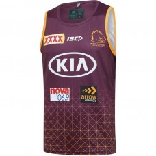 Brisbane Broncos 2020 Men's Training Singlet