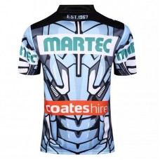 2016 Cronulla SHARKS  MEN'S JERSEY