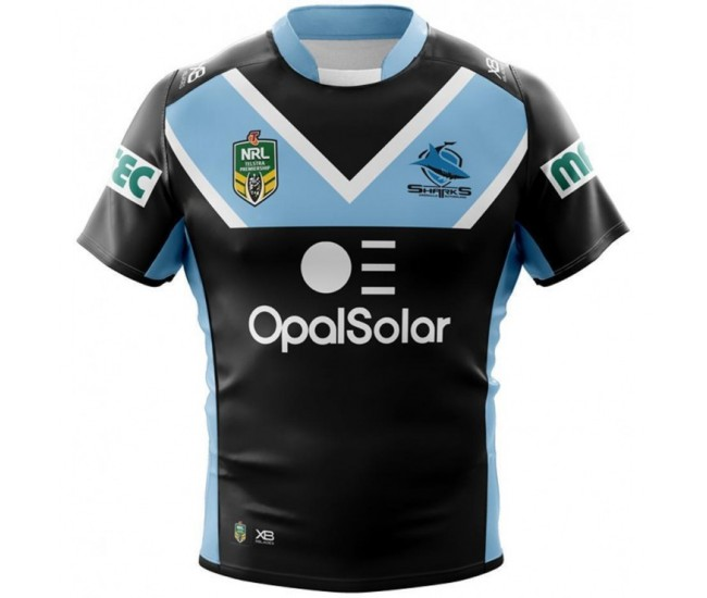 Cronulla Sutherland Sharks 2018 Men's Away Jersey