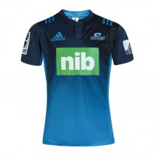 Blues 2017 ADIDAS MEN'S BLUES SUPER RUGBY T-SHIRT