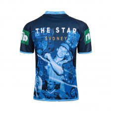 NSW Blues State Of Origin 2016 Men's 'True Blue' Captains Jersey