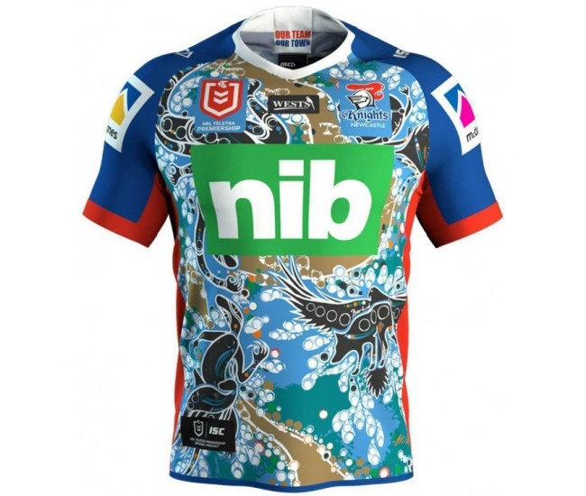Newcastle Knights 2019 Men's Indigenous Jersey