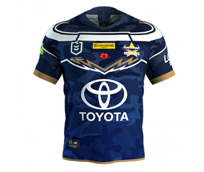 North Queensland Cowboys 2019 Men's Defence Jersey