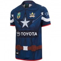 North Queensland Cowboys Men's Captain America Marvel Jersey