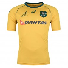 Australia Wallabies 2017/18 S/S Replica Supporters Rugby Jersey