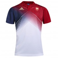2017/18 Men's France Home Rugby Jerseys