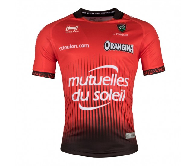 17/18 Men's France RCT TOULON Home Rugby Jersey