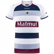 Union Bordeaux Begles 17/18 HOME WHITE/BLUE/BORDEAUX JERSEY