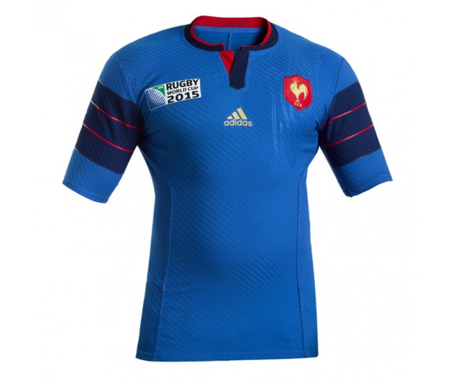 France Rugby World Cup Home 2015 Jersey