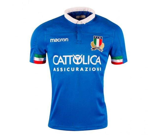 Italy 2019 Home Rugby Shirt