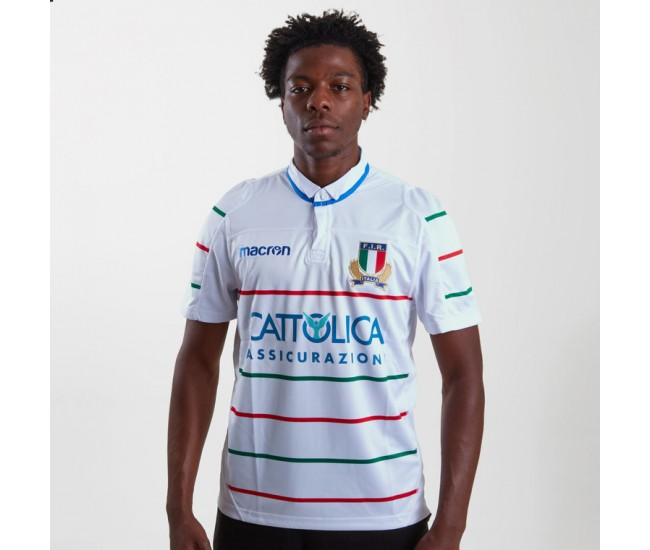 Italy 2018/19 Alternate S/S Rugby Shirt