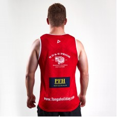 Tonga 2018/19 Players Rugby League Training Singlet
