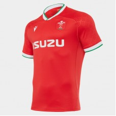 Macron Wales 2021 Home Rugby Jersey