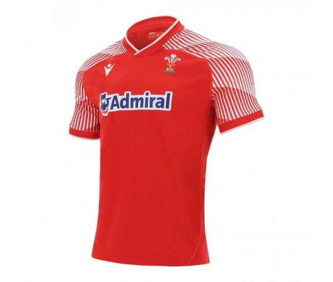 Welsh Rugby Pathway 2021 Home Jersey