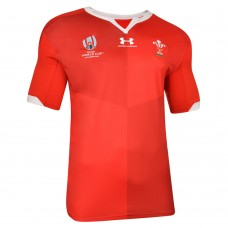 Under Armour Wales Rugby RWC Home Jersey 2019