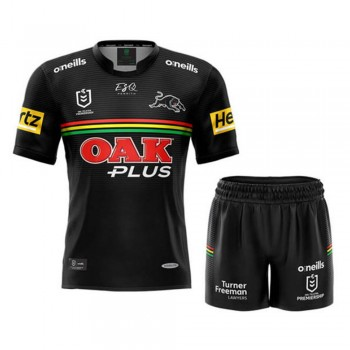 Penrith Panthers Kids Home Kit 2021