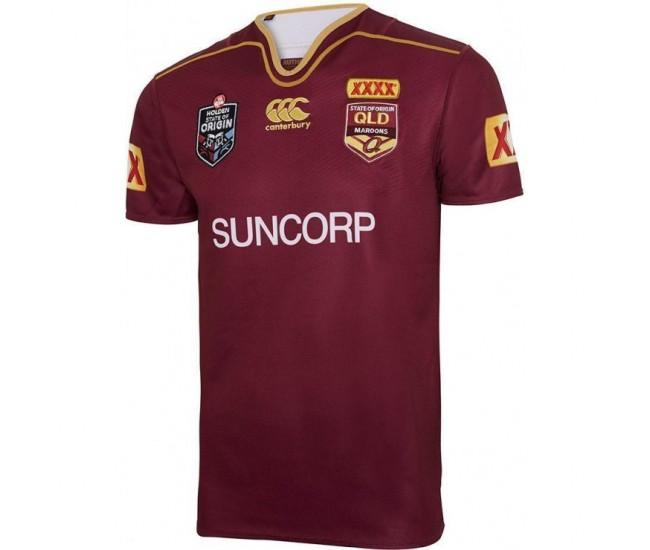 QLD Maroons State of Origin 2017 Men's Jersey
