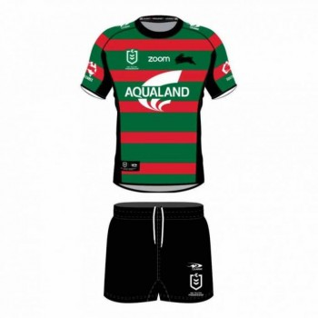 South Sydney Rabbitohs Kids Home Kit 2021