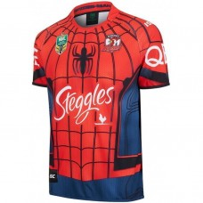 Sydney Roosters 2017 Men's Spider-Man Marvel Jersey