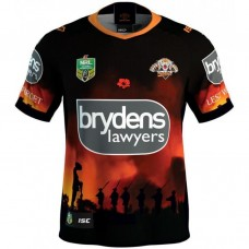 Wests Tigers 2018 Men's ANZAC Jersey