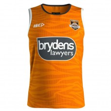 Wests Tigers 2019 Men's Training Singlet